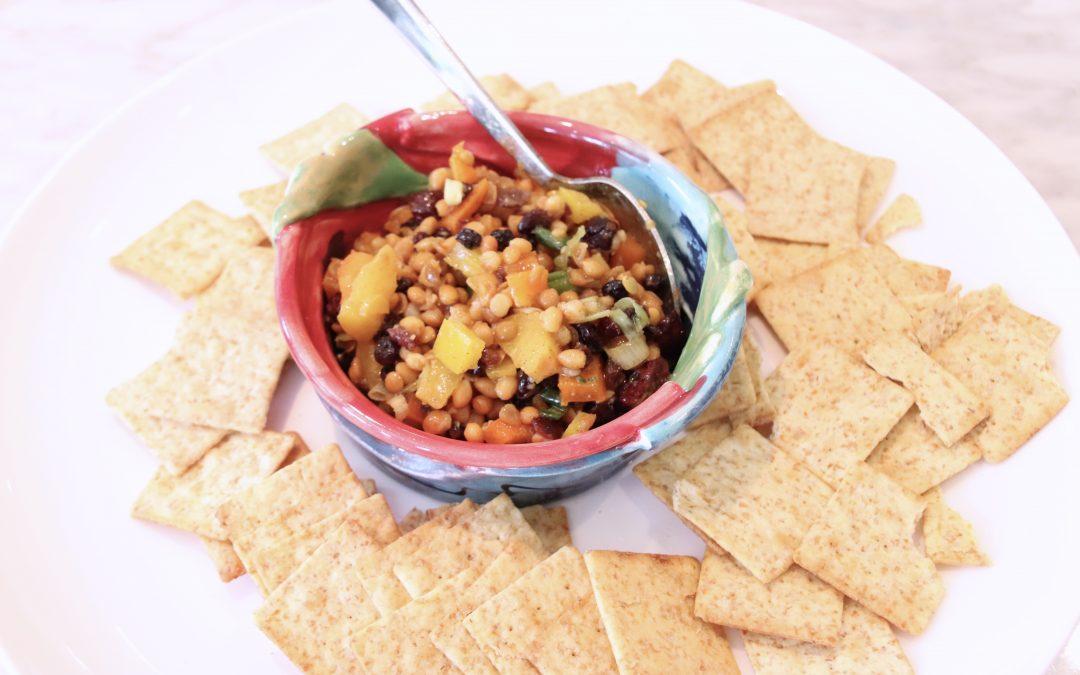 Little Sarah's Lentil Dip: A Party Favourite